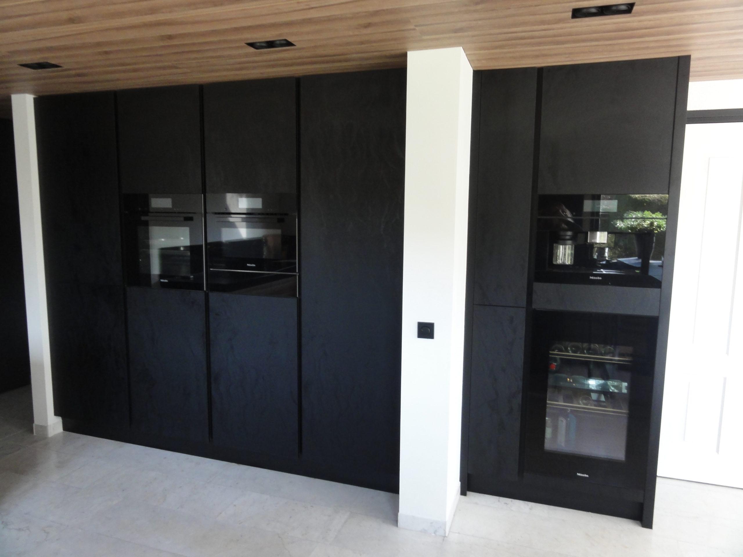 Moderne keuken inbouw apparatuur